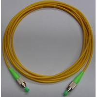 Yellow color FC APC Fiber Optic Patch Cord with LSZH cable