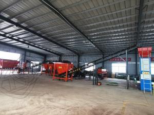 Quality Animal waste biomass organic ball fertilizer granular making machine production line for sale for sale