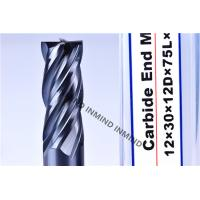 Quality AlTiN Coating High Speed Steel End Mill 16mm / 18mm / 20mm 2Flute 4 Flute M42 Co8% for sale