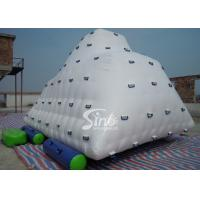 China Commercial Sports Iceberg Big Inflatable Water Toys for Kids , Adults on sale