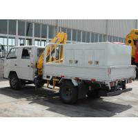 Quality Durable 2T Hydraulic Driver Lorry Mounted Crane, Cargo Crane Truck for sale