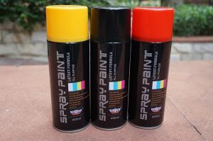 Quality Solvent Automotive Base Coat Aerosol Transparent Spray Paint For Plastic for sale