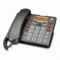 Quality Answering Machine with Corded Phone and Amplifier Big Button Combo for sale