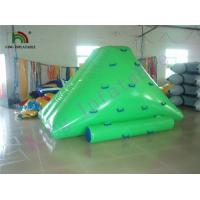 China Aqua Customized Inflatable Water Toys / Mini Jumping  PVC Iceberg For Adult and Kids on sale