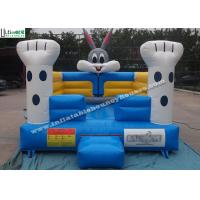 China Cute Kids Rabbit Indoor Inflatable Bouncy Castles For Commercial Use wholesale