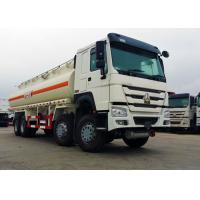 Quality 25 CBM 8x4 Oil Tanker Truck Stainless Steel Material 371HP Diesel Engine for sale