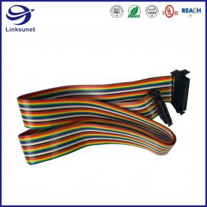 Quality 3m Flat Cable assembly with FX2 Socket 1.27mm AC 125 V Connector for sale