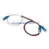 Buy cheap CATV LAN SM LSZH 1x2 PLC Splitter Mini Tube 1650nm For FTTH Networks from wholesalers