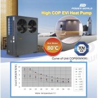 Quality EVI Air Soure Heat Pump System Outlet 80Celsius Degree Water for High Temperature Commercial Building Industry Purpose for sale