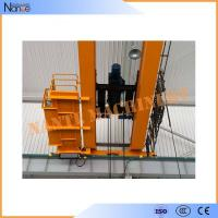 China 10 ton / 50 ton Dual Rail Electric Wire Rope Hoist Heavy Duty Winch Trolley on sale