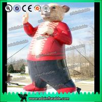 Quality Car Advertising Inflatable Rat Cartoon Bear Animal Model for sale