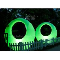 Quality Promotional Ring Shaped Inflatable Led Light Balloon Waterproof Oxford Fabric for sale