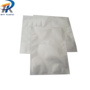 China manufacture Matt Silver Heat Seal food Mylar Aluminum Foil Bags PET/AL/PE laminate vacuum bags on sale