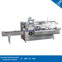 Quality Trouble Display Automatic Cartoning Machine Stable Performance For Bottle Packing for sale