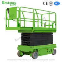 Quality 8m 450Kg Loading Self-propelled Scissor Lift Electrical Driving with CE certificate for sale