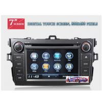 Quality Autoradio for Toyota Corolla Car Stereo DVD GPS Navigation System for Toyota Corolla 2007+ for sale