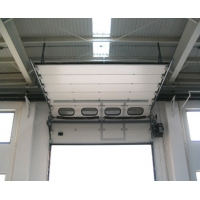 Quality High Lift 6500mm Width Industrial Sectional Doors for sale
