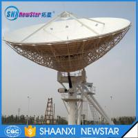 Quality Hot sale China factory 13.0m big Tx/Rx cassegrain type motorized earth station communication antenna for sale