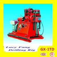 China Hot Cheapest GX-1TD Portable Skid Mounted Geotechnical Drilling Rig 30-150 m Depth