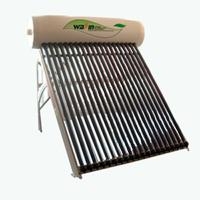 China The compact pre-heated copper coil solar water heater designed with heat pipe on sale