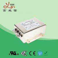 Quality Electric Passive 3 Phase Power Line Filter 440V 480V 50A Metal Case for sale