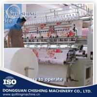 Buy cheap 5200*1100*1600mm Computerized Lock Stitch Quilting Machine With Low Noise from wholesalers