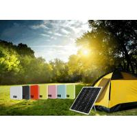 China 25W/50W Solar Powered Pole Lights , Solar Powered Led Lights For Camping Charging on sale