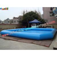 China Customized Cool Inflatable Water Pools 10 x 8 meter for water toys, zorb ball use on sale
