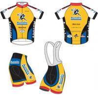 Quality Full Sublimated Cycling Wear Custom Road Bike Jerseys Anti UV for sale