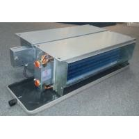 Quality Ceiling concealed Fan Coil units with EC Motor 4 pipe (FP-102WA/4E) for sale