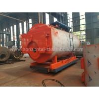 Quality 1.4 MW Oil Fired Hot Water Boiler Heating System Horizontal Type Corrugated Furnace for sale