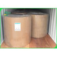 China 29gsm Food Grade Paper Roll / Water And Oil Proof White Kraft Paper For Fast Food Packaging on sale