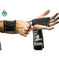 Quality 3mm Neoprene Weight Lifting Wrist Wraps Crossfit With Hand Grip Three Finger Holes for sale