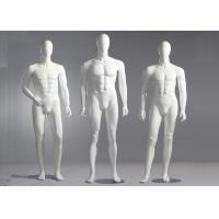 China Fiberglass Male Standing / Seating Full Body Mannequin For Clothes Shop on sale