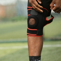 Quality Breathable Knee Brace Support Anti Slip For Professional Sports for sale