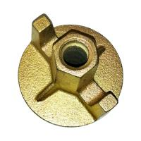 Quality Fix Formwork Tie Rod Scaffolding Accessories Concrete Wing Nuts Square Type Thread for sale