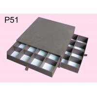 Quality P51 Rectangle Chocolate Boxes, Offset Printing Gift Packaging Boxes, Paper Chocolate Boxes, Brown Gift Packaging Boxes for sale