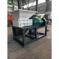 Quality Unique Power Scrap Metal Shredder , Metal Recycling Shredder Single Shaft for sale