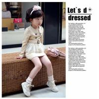 Quality Best selling children clothing baby girl dresses kids branded clothing wholesale for sale