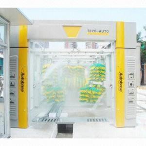 China Car washing manufacturing Tepo-Auto tunnel car wash machine on sale