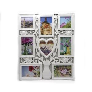 China Hotel / Wedding White Multi Photo Frames Customized Size ISO Approved on sale