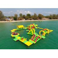 China 0.9mm Pvc Tarpaulin Giant Inflatable Water Park Playground Game Toys on sale