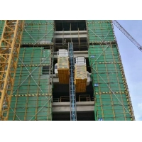 Buy cheap TUV Rack Pinion Lift 450m 2 Ton 60m/Minute Speed Construction Site Elevator from wholesalers