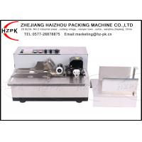 Stainless Steel Ink Coding Machine , Date Coding Machine For Paper Plastic Bag
