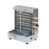 Quality Rotating Bar Doner Kebab Shawarma Machine Electric Mini Stainless With Horizontal BBQ Spit for sale