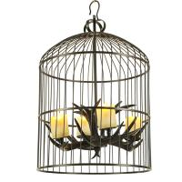 Quality Antler dining room light Cage Chandelier Lighting For Indoor Home (WH-AC-28) for sale