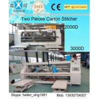 Quality 3 Ply / 5 Ply / 7 Ply Paperboard Box Stitching Machine For Big Size Carton for sale