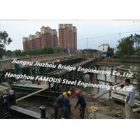 Quality Chinese Steel Fabricator Supply Prefabricated Steel Structural Bailey Bridge Of Reinforced Steel Q345 for sale