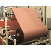 Quality Nylon66 Fabric Reinforced Rubber Sheet , Custom Color Rubber Diaphragm Fabrics for sale