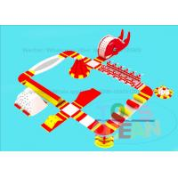 0.9MM PVC Giant Inflatable Water Park For Adults And Kids Entertainment Play Fun